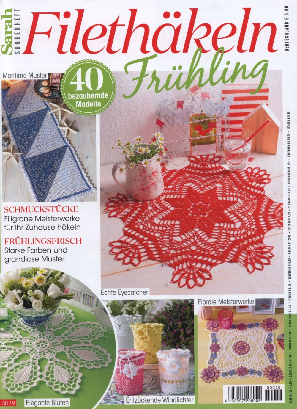 Журнал по вязанию крючком «Sarah — Filethakeln» SH19 2019
