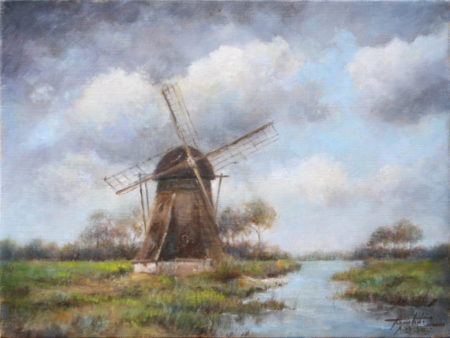 Fine-Art-Windmill-Original-Oil-Painting-on-Canvas-by-artist-Darko-Topalski-1200x903.jpg