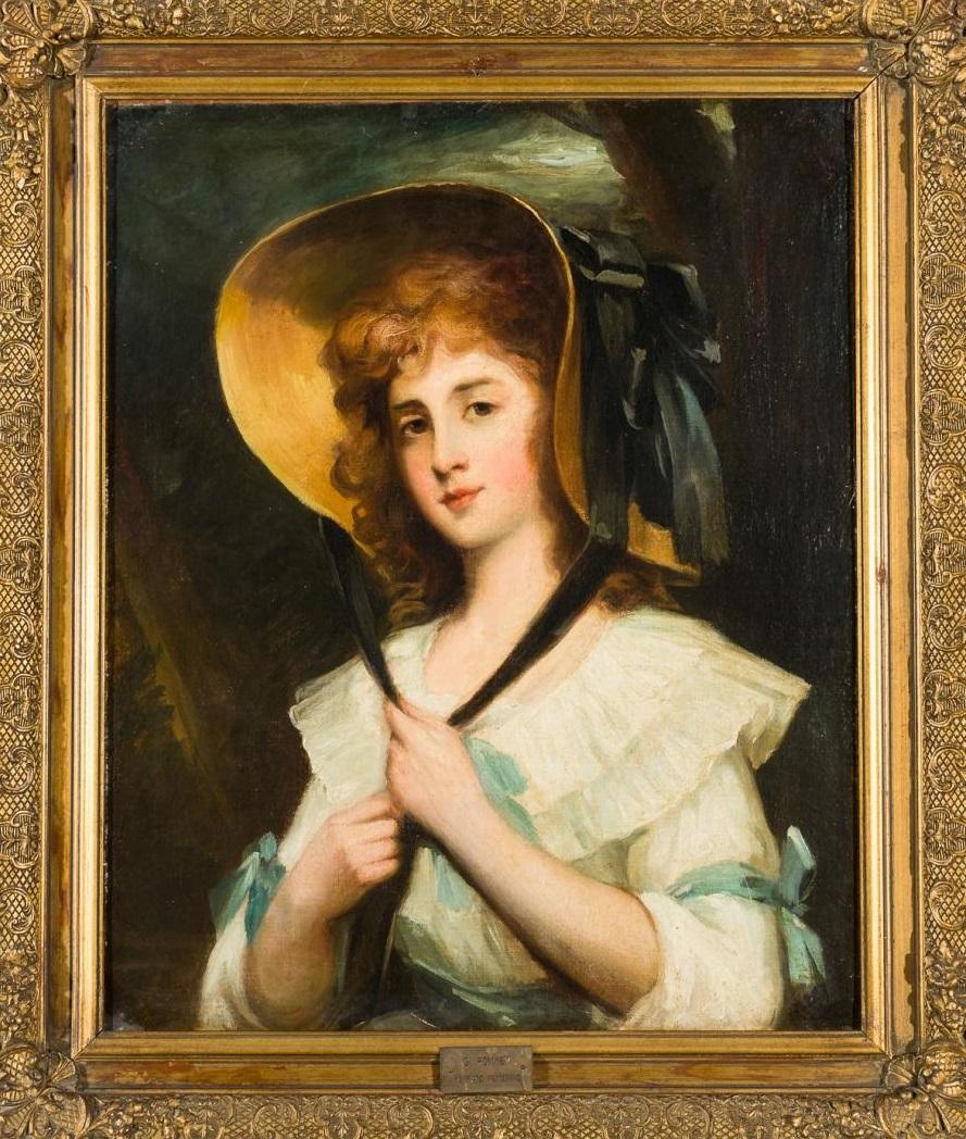 GEORGE ROMNEY Charlotte Pierse.